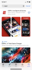 ESPN App ASO